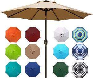Blissun Outdoor Market Patio Umbrella