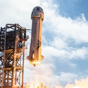 Blue Origin's New Shepard suborbital spacecraft
