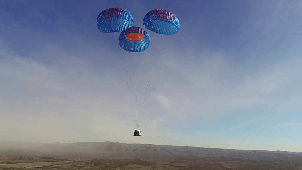 Blue Origin's New Shepard suborbital spacecraft