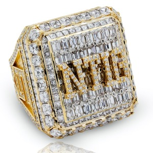 Drake's SBL rec basketball league championship ring