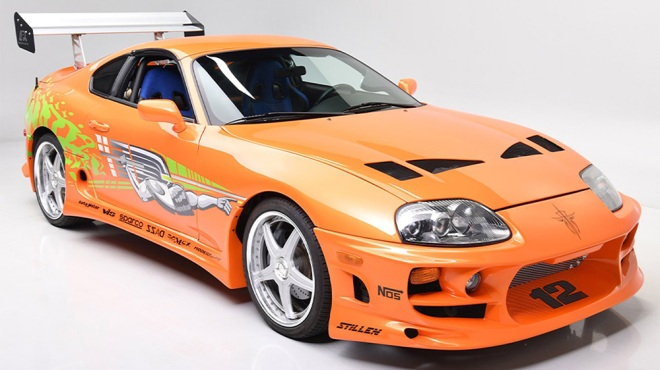 """1994 Toyota Supra MK IV from """"The Fast and the Furious"""""""