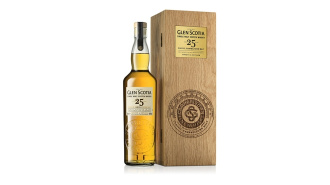 Glen Scotia 25 Year Old single-malt Scotch