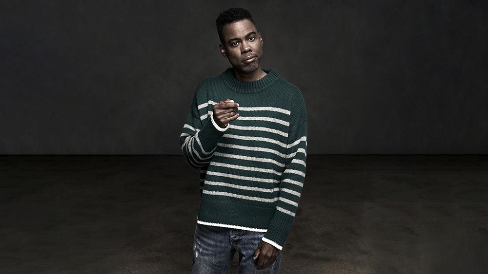 Chris Rock in the original Marin sweater.