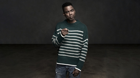 Chris Rock in the original Marin sweater.