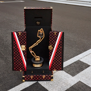 Louis Vuitton's Monaco Grand Prix Trophy Case