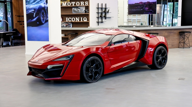 """""""Furious 7"""" W Motors Lykan HyperSport"""