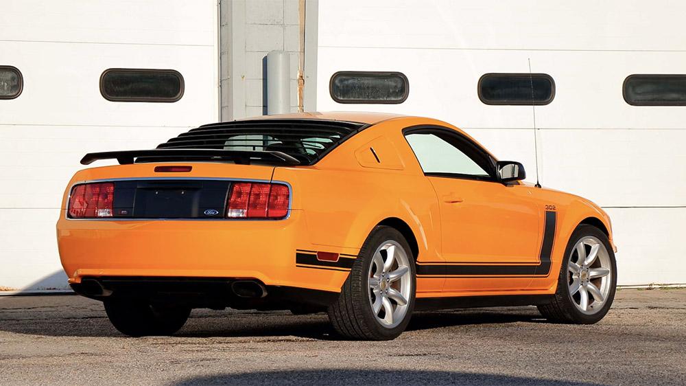 Parnelli Jones's personal 2007 Ford Mustang Saleen Parnelli Jones