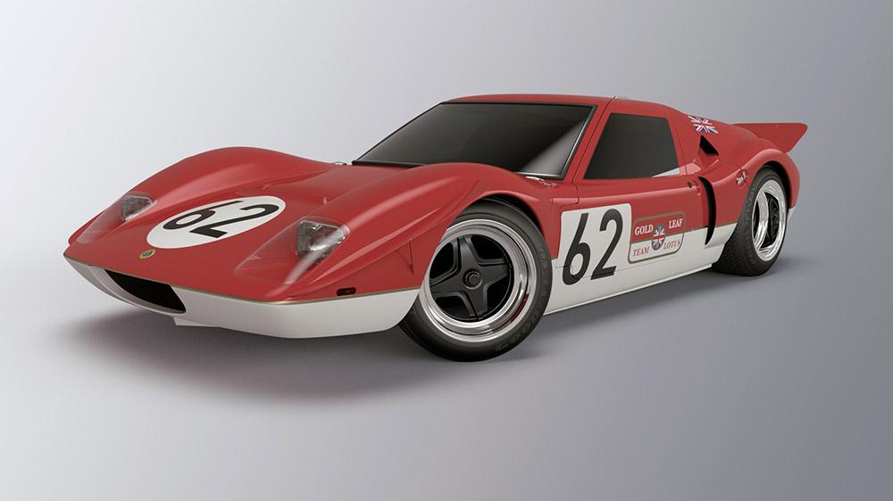 Lotus Type 62 race car