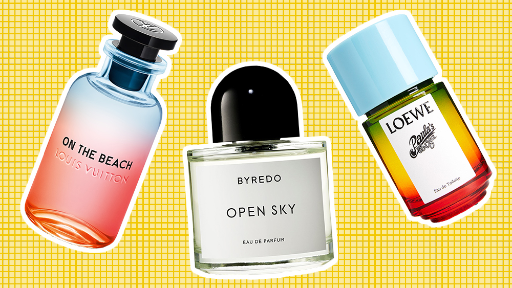 New fragrances from Louis Vuitton, Byredo and Loewe.