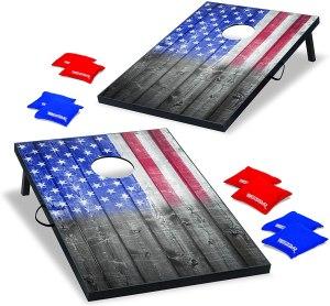 Wild Sports USA Flag Cornhole