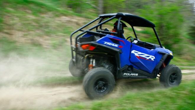 Test-riding the 2021 Polaris RZR Trail S.