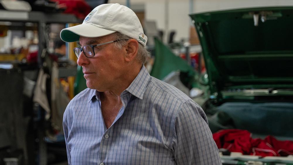 Racer and automotive restorer Bruce Canepa.