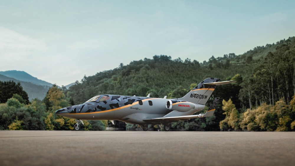 This New HondaJet Elite S has a higher payload, enhanced avionics and higher payload.