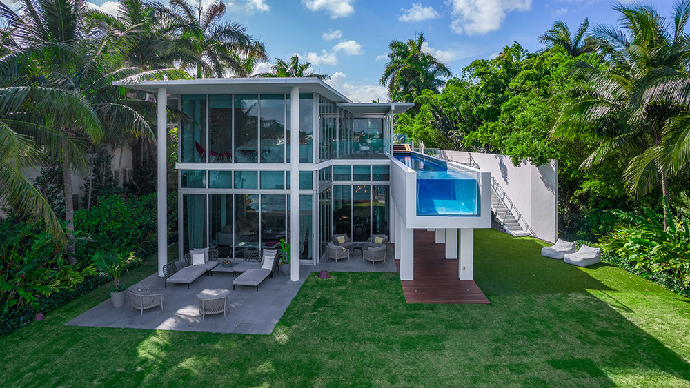 This $22.5 Million Miami Beach Home Lets You Step Into the Infinity Pool Right From the Primary Bedroom