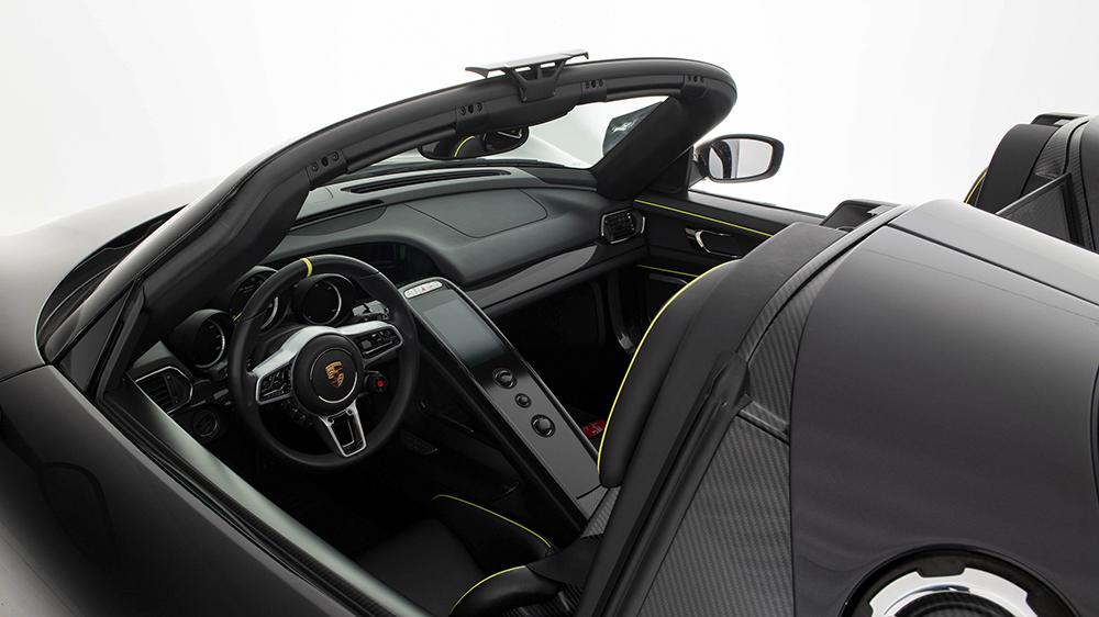 2015 Porsche 918 Weissach Spyder