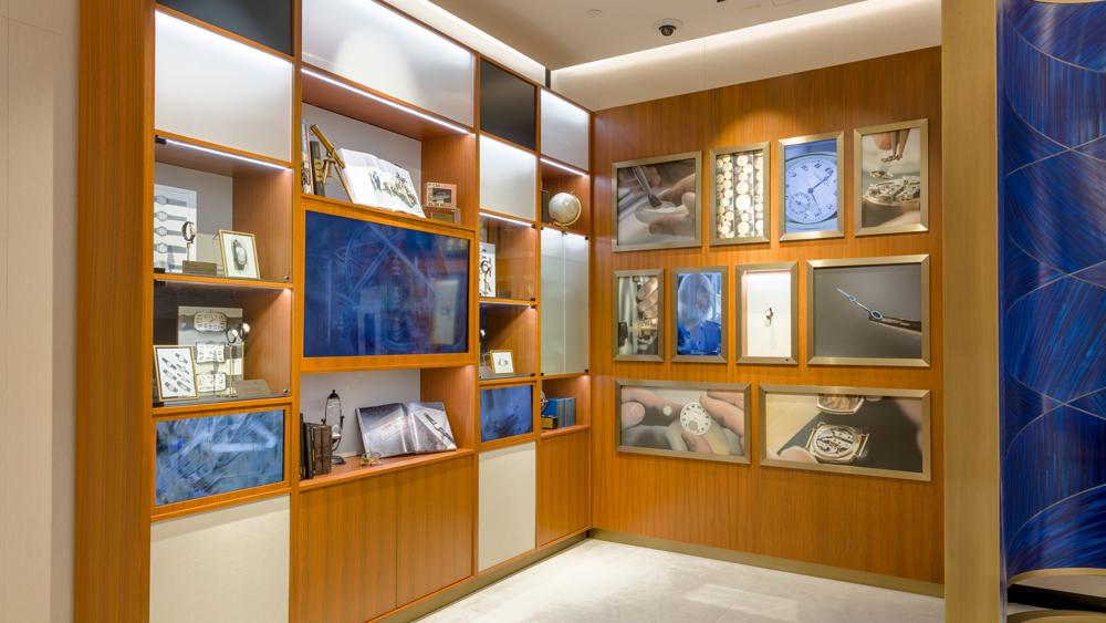 Vacheron Constantin NYC Boutique Heritage Installation