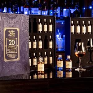 20 whiskies tasting set