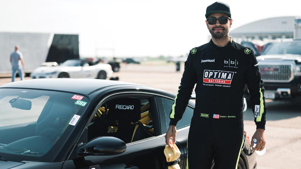Betim Berisha, founder of BBi Autosport.