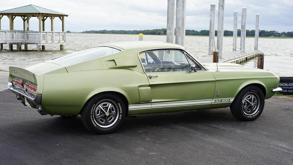 1967 شيلبي GT500 غير مستعاد.