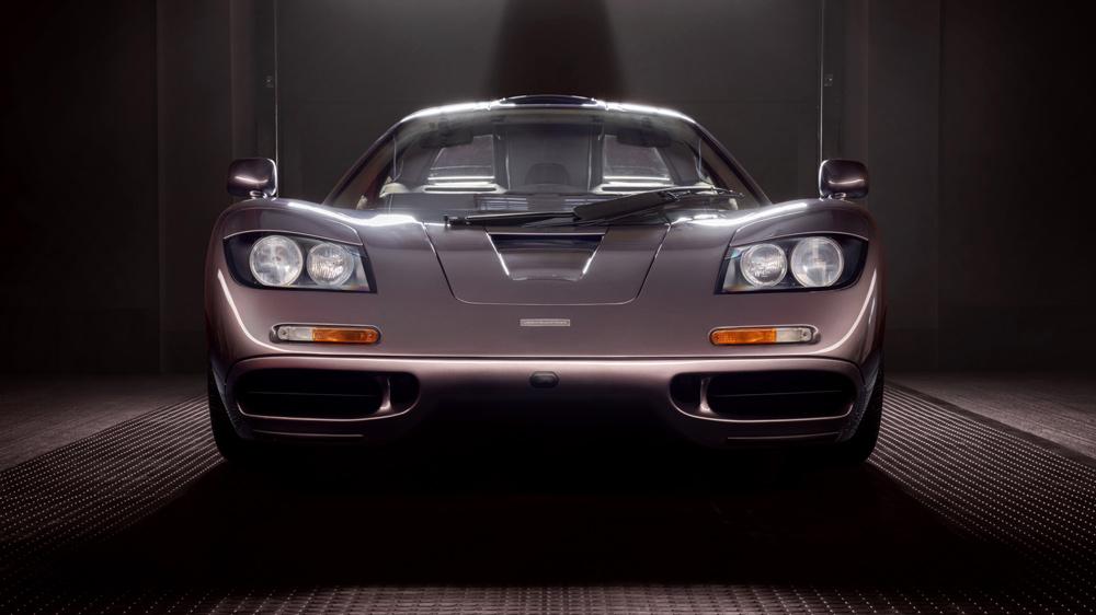 A 1995 McLaren F1.