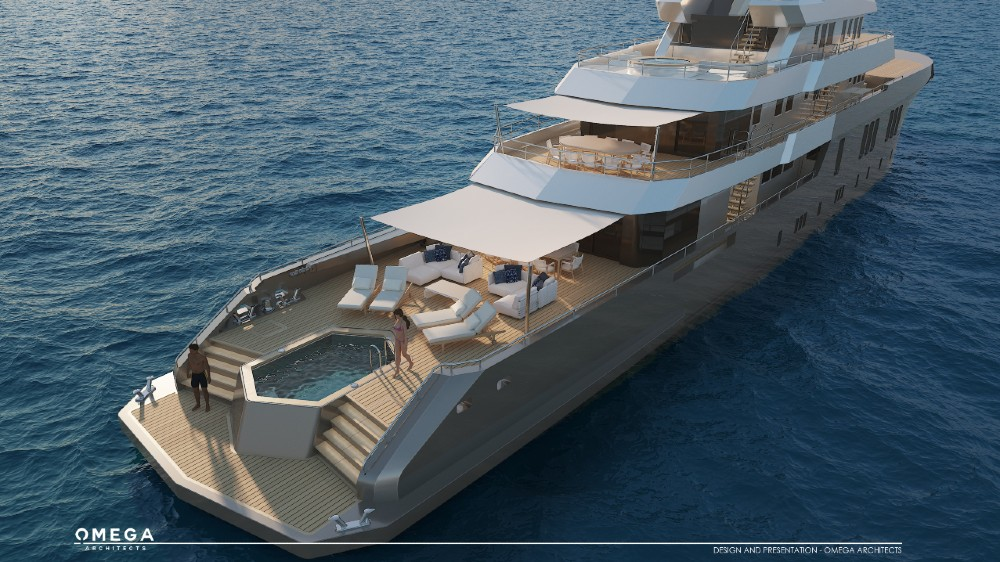 The Phoenix project is a 187-foot concept that will have the hull of an existing vessel designed for cable laying in the North Sea.