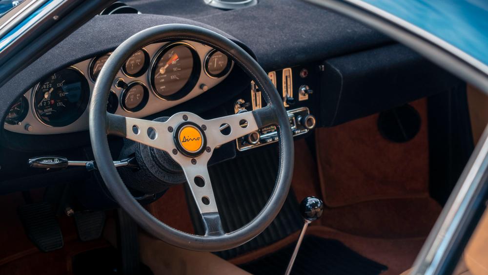 A 1972 Dino 246 GT.