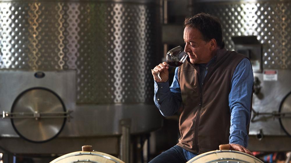 Cuvaison winemaker Steve Rogstad.