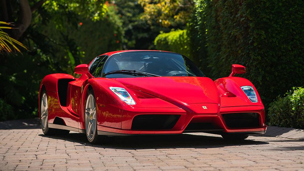 An example of the Ferrari Enzo.