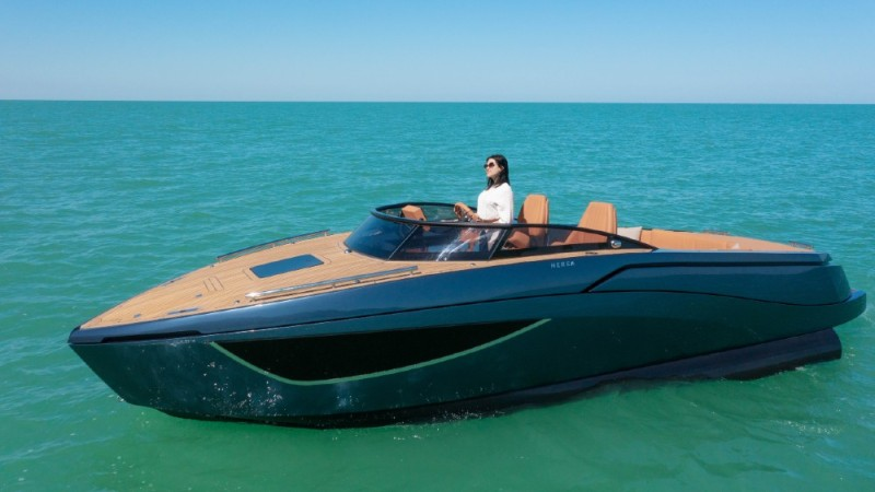 The Nerea 24 was one of the standouts from this year's Venice Boat Show
