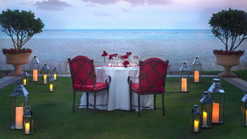 Acqualina Resort & Spa Beachfront Dinner