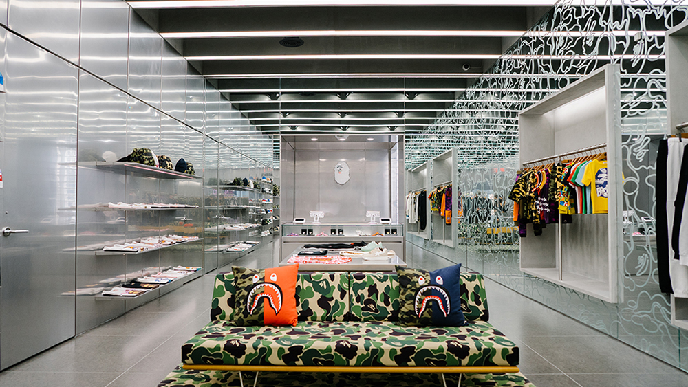 Bape NYC Store Opening