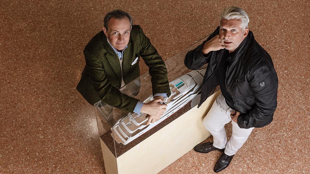 Carlo Nuvolari and Dan Lenard