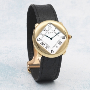 """Cartier Pebble """"Turtle"""" from 1975"""