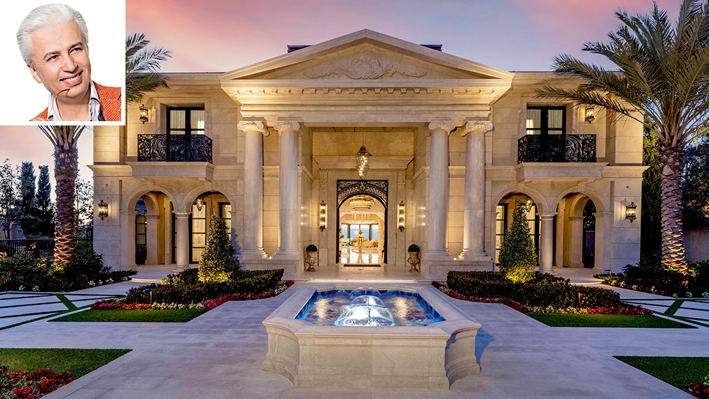 Home of the Week: Inside a New $70 Million Crystal-Encrusted Palace on California's Newport Coast