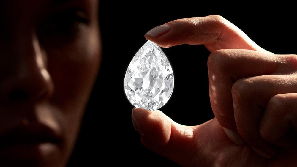 101 Carat Diamond, Sotheby's