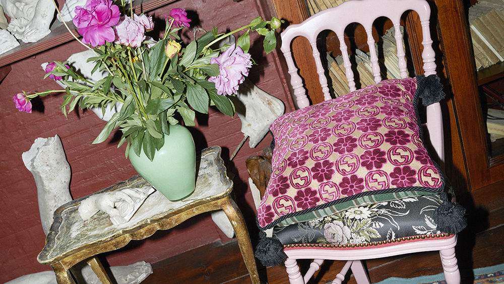 Gucci's Romantic New Homewares Add a Dose of Color to Everyday Life