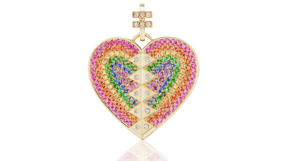 Harwell Godfrey Charity Heart Pendant