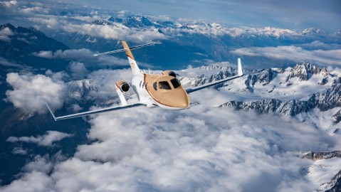 HondaJet just released its new Elite S jet with extended range, improved avionics and higher payload