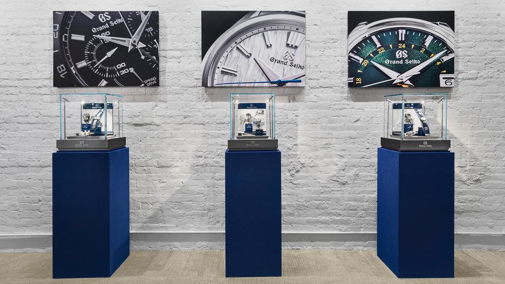 Watches of Switzerland Soho Grand Seiko Boutique