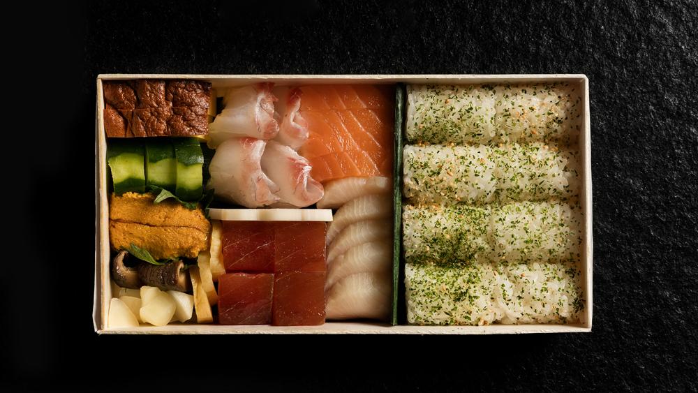 bento box sushi