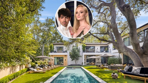 Joe Jonas and Sophie Turner's Encino Mansion