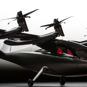 Archer's new Maker is a two-seat air taxi that was launched in Los Angeles