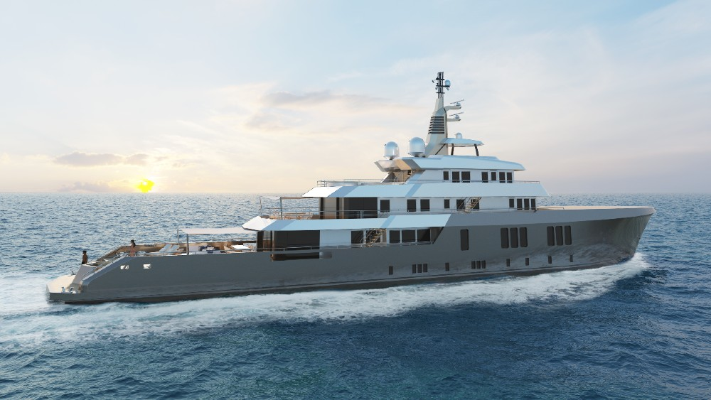Project Phoenix is a 187-foot concept that will have the hull of an existing vessel that was designed for laying cables in the North Sea.