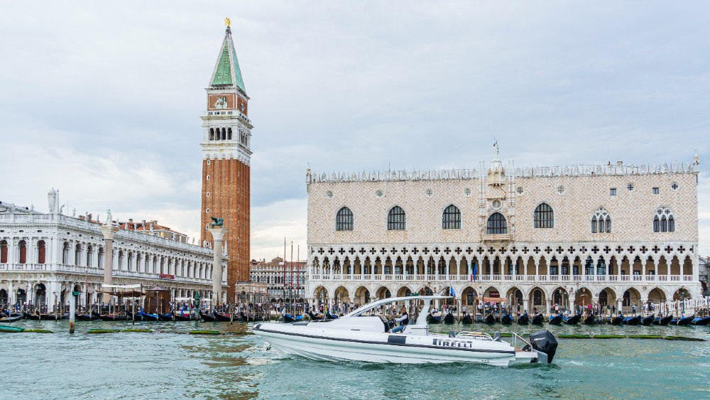 The Venice Boat Show had more than 200 yachts that included five new launches