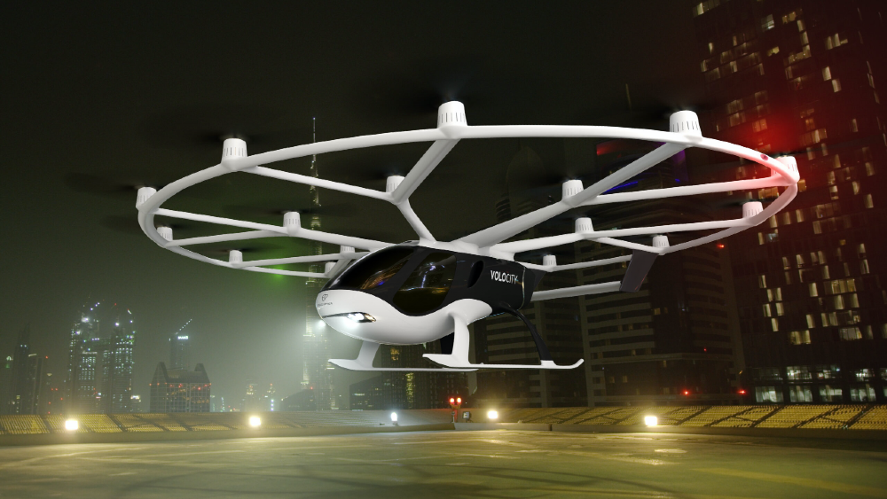 Volocopter's 2X was the first eVTOL to fly in French air space