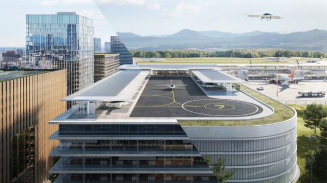 Parking garages will become the next urban airports under a deal with Joby