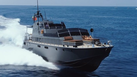 Cujo is an 80 foot motoryacht that was owned by Dodi Al-Fayed and used by Princess Diana before their deaths in 1997.