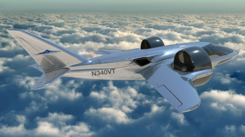 The XTI Trifan claims to have a longer range and faster speed than other eVTOLs