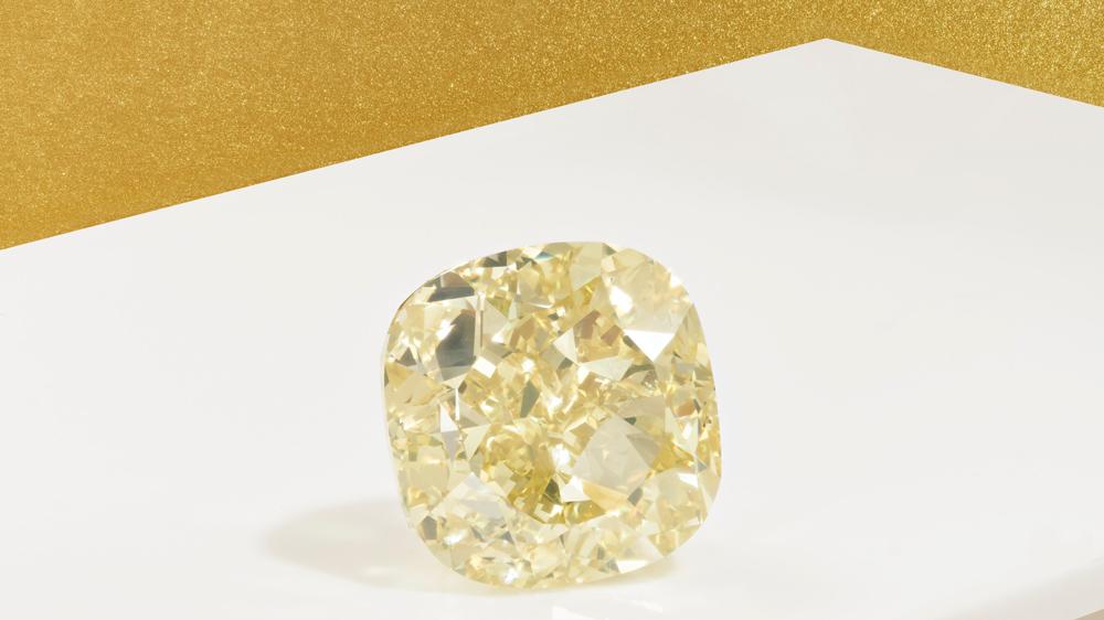 Christie's The Dancing Sun Yellow Diamond