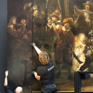 The Night Watch Painting at Rijksmuseum